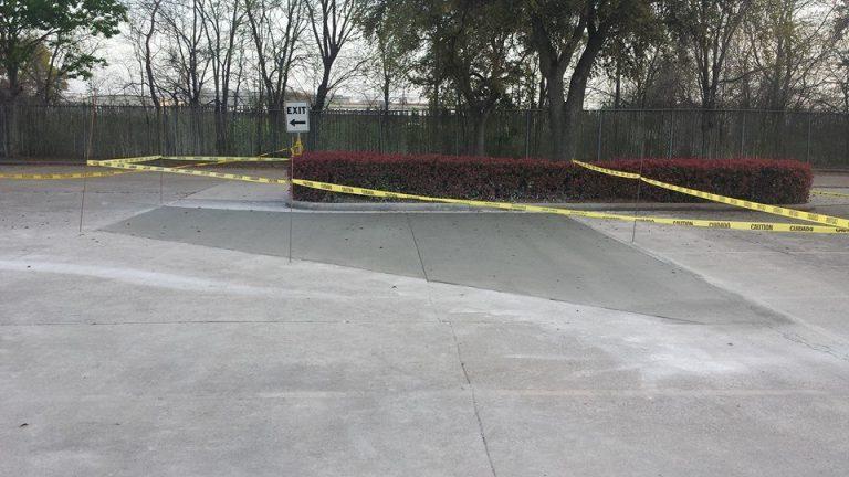 image of parking lot repair
